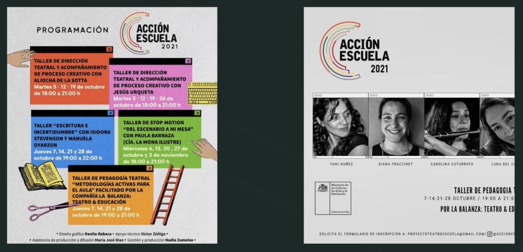Cuarto Encuentro de Escuelas de Teatro - Valparaíso 2021 - Taller de Pedagogía Teatral