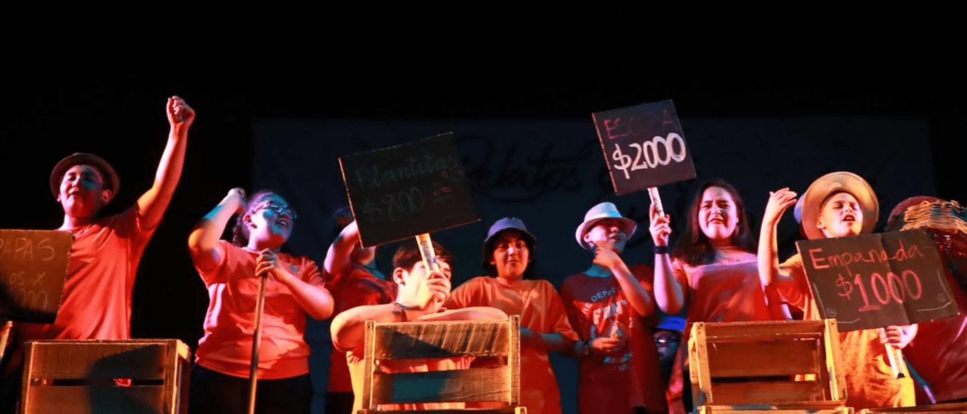 Teatro en la Educación llega a colegios de Talagante